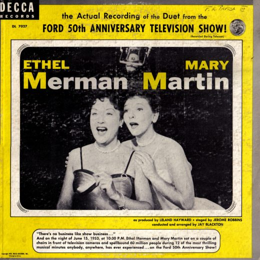 Mary Martin, Ethel Merman